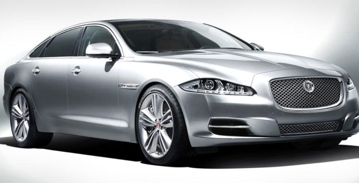 New jaguar XJL Luxury